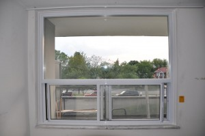 Fixed over sliding window interior